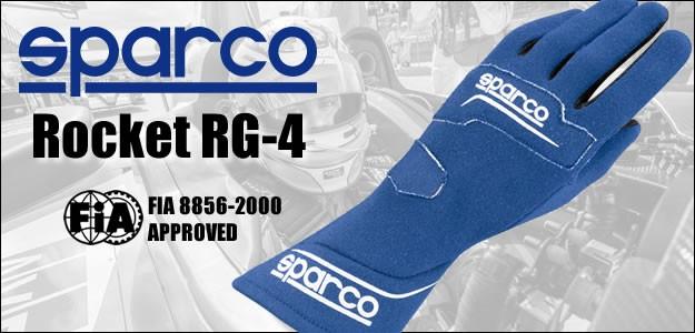 スパルコ レーシンググローブ ROCKET RG4