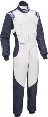 スパルコ レーシングスーツ SPARCO RS5 ホワイト ネイビー
