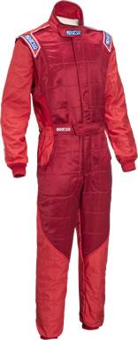 スパルコ レーシングスーツ SPARCO RS5 レッド