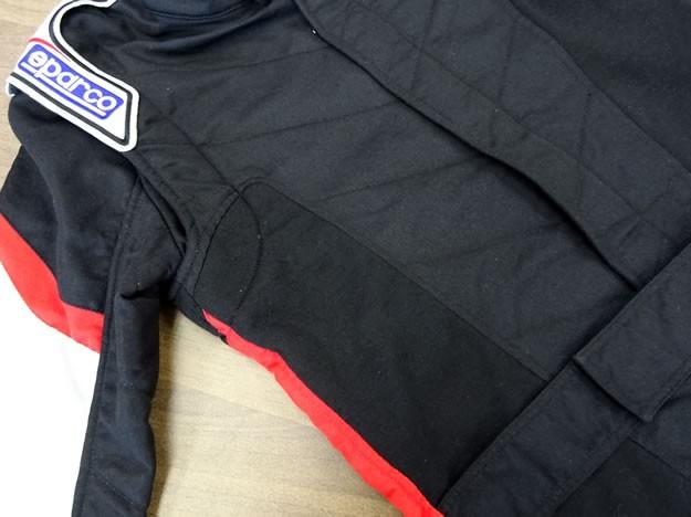 スパルコ レーシングスーツ ソラ グリッド ランバー 伸縮
