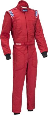 スパルコ レーシングスーツ SPRINT RS2 レッド