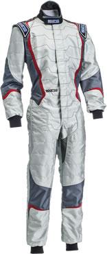 スパルコ レーシングスーツ X-LIGHT KX8 グレー