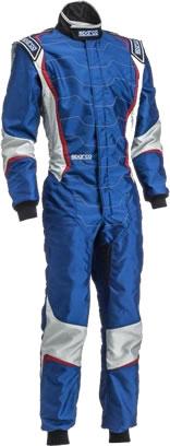 スパルコ レーシングスーツ X-LIGHT KX8 ブルー