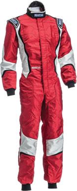 スパルコ レーシングスーツ X-LIGHT KX8 レッド