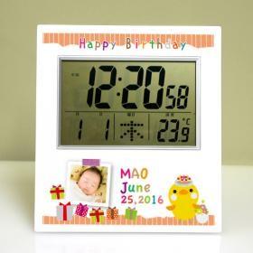 内祝いにデジタル時計
