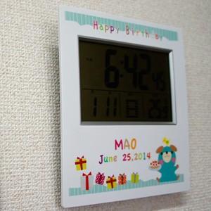 壁掛けに出来るデジタル時計
