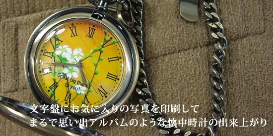 My写真 懐中時計タイプ