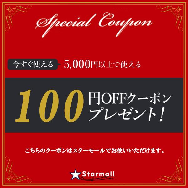 スターモールで使える100円OFFクーポン