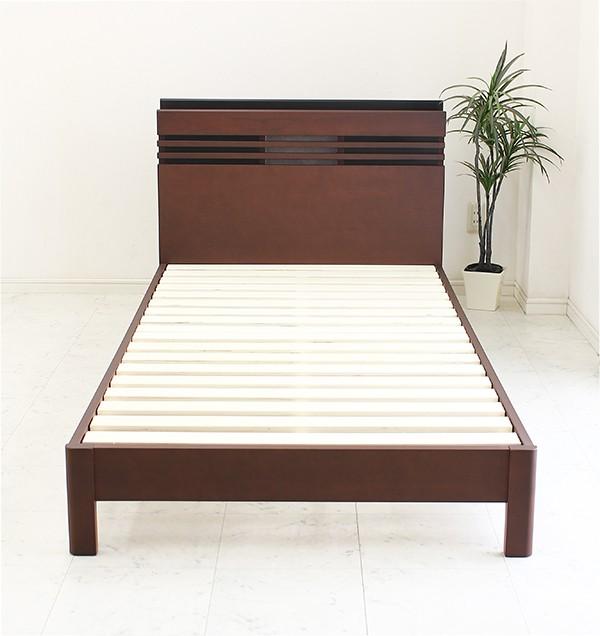ベッド セミダブル フレームのみ すのこベッド