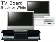 人気カラー黒・白 テレビ台