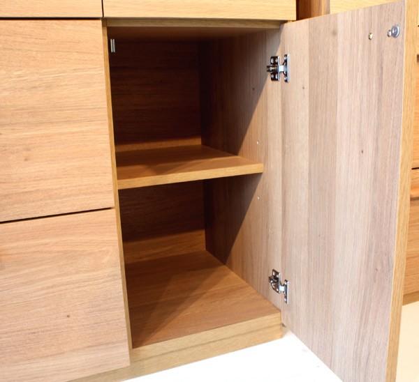 食器棚 食器収納 完成品 幅105cm 北欧