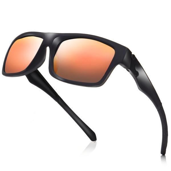 サングラス メンズ 偏光 ミラー おしゃれ 偏光サングラス 釣り 運転 スポーツサングラス 野球 uvカット|steposwc|16