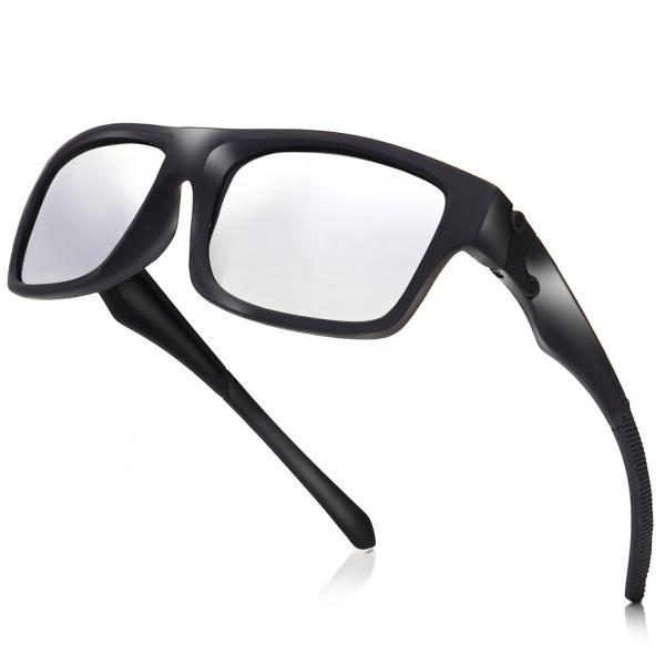 サングラス メンズ 偏光 ミラー おしゃれ 偏光サングラス 釣り 運転 スポーツサングラス 野球 uvカット|steposwc|15