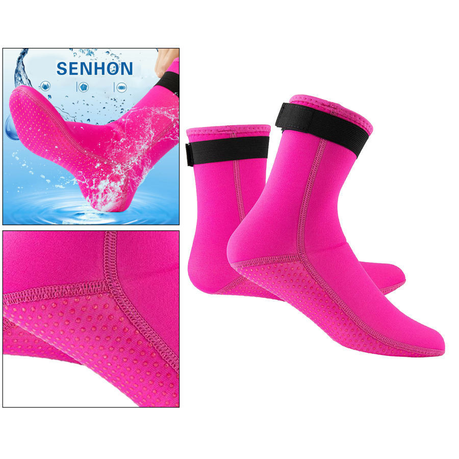 ネオプレンソックス3ミリメートルビーチ防水ソックスブーツ靴下ダイビング水泳サーフィンシュノーケリングワタリカヤックラフティング stk-shop 17