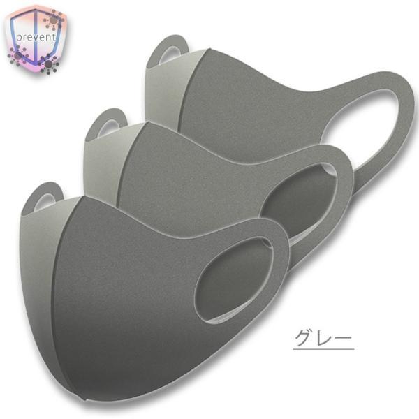 マスク 在庫あり 洗えるマスク ウレタンマスク レギュラーサイズ 子供用 小さめ 通気性 夏用 涼しい 蒸れない ピンク グレー 黒 ライトグレー|store-ilover|16