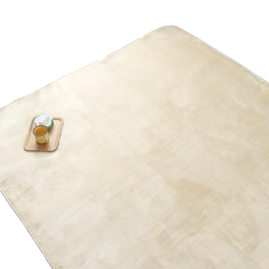 洗える おしゃれ ラグ 抗菌 防臭 防ダニ カーペット 130×185cm 1.5畳 オールシーズン ホットカーペット対応 フランネル ライトキャスト|store-pocket|26