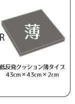 リーネクッションカバー+2cm厚ウレタンシートクッションセット