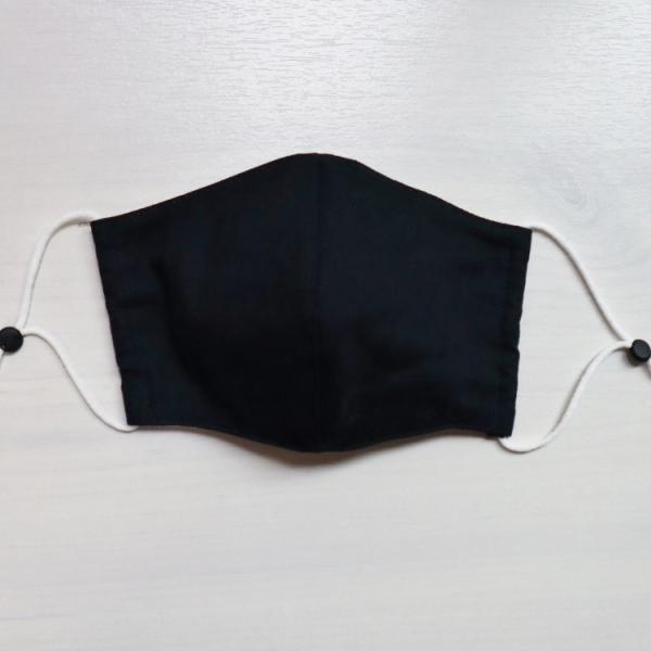 マスク 日本製 洗える 秋冬用 立体 不織布フィルター 大 普通 小 3サイズ 無地|stories-shop|06