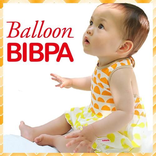 大人気のビブパを機能はそのままにボトムをふんわりバルーンシルエットにして可愛さアップしたBALLOON BIBPA(バルーンビブパ)
