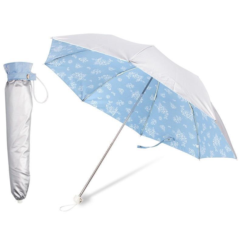 日傘 折りたたみ レディース 晴雨兼用 UVカット率99%以上 遮光率99%以上 UPF50+ 遮熱|story-web|18