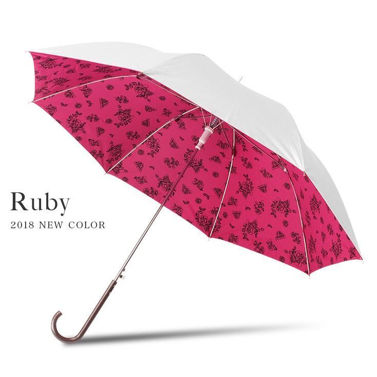 日傘 レディース 長傘 晴雨兼用 UVカット率99%以上 遮光率99%以上 遮熱 大きい|story-web|23