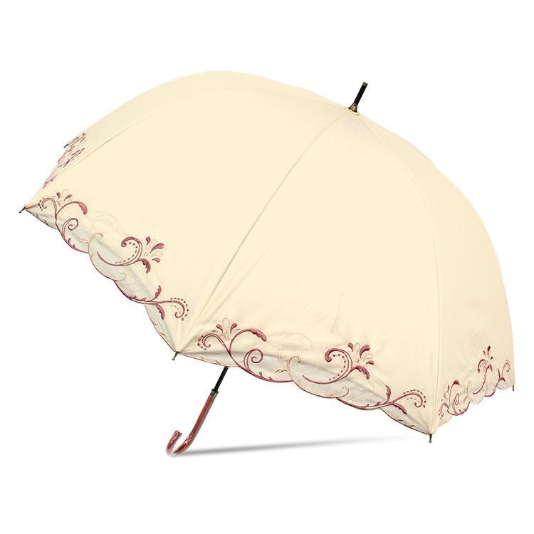 日傘 完全遮光 レディース 長傘 おしゃれ 晴雨兼用 UVカット率99.9%以上 遮光率100% 二重張り|story-web|11