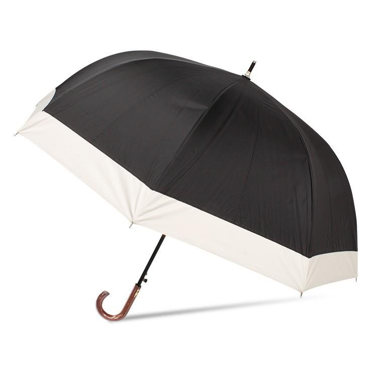 日傘 完全遮光 レディース 長傘 おしゃれ 晴雨兼用 遮光率100% 深張り 耐風 ワンタッチ|story-web|07