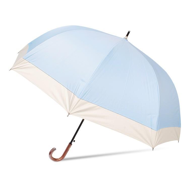 日傘 完全遮光 レディース 長傘 おしゃれ 晴雨兼用 遮光率100% 深張り 耐風 ワンタッチ|story-web|09