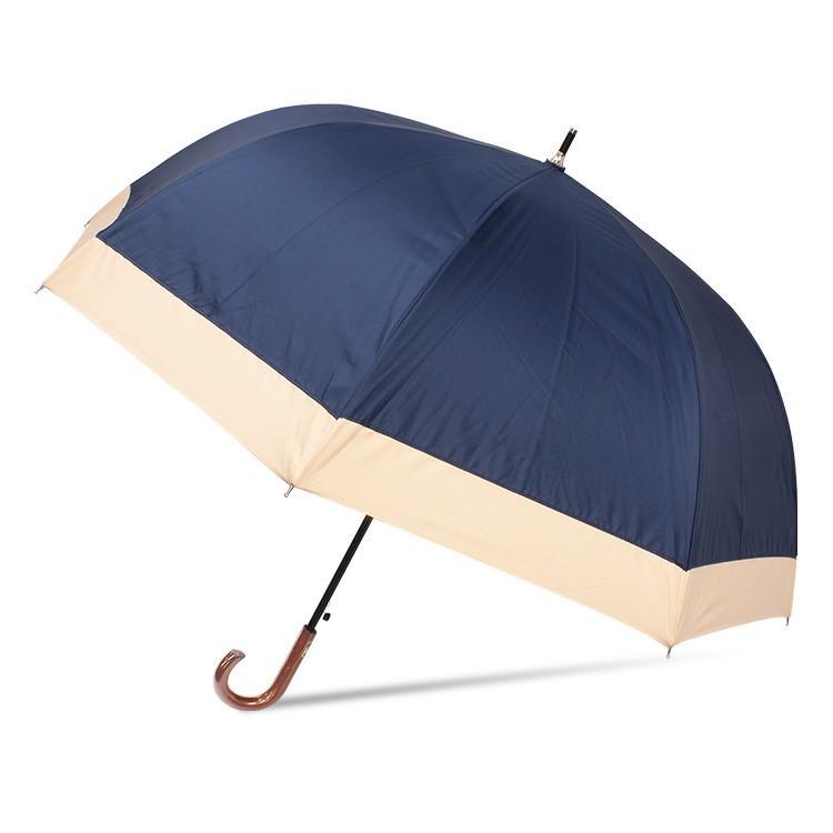 日傘 完全遮光 レディース 長傘 おしゃれ 晴雨兼用 遮光率100% 深張り 耐風 ワンタッチ|story-web|08