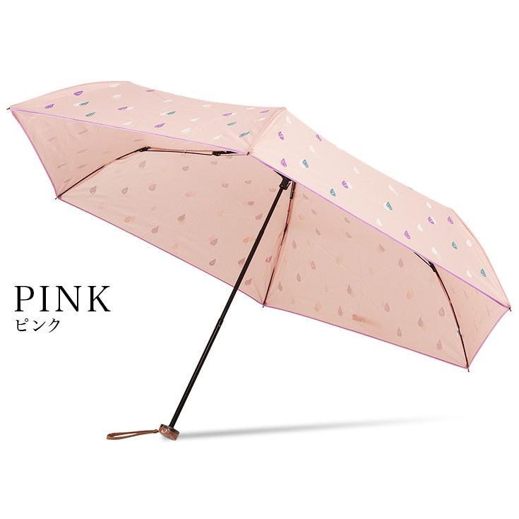 送料無料 折りたたみ傘 レディース 軽量 かわいい グラスファイバー ピコレース 晴雨兼用 story-web 11