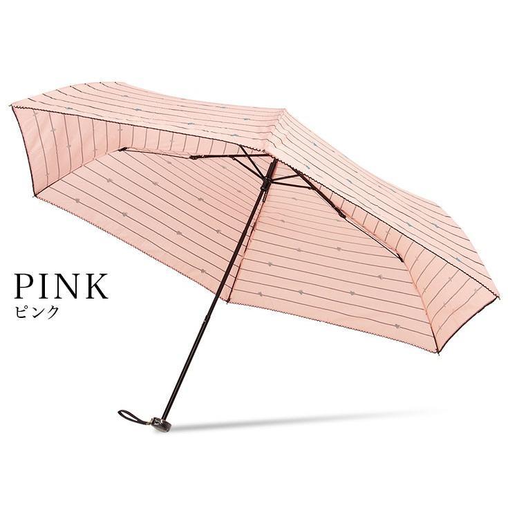 送料無料 折りたたみ傘 レディース 軽量 かわいい グラスファイバー ピコレース 晴雨兼用 story-web 13