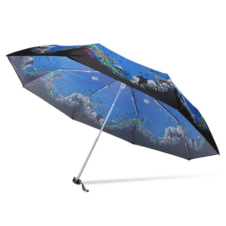 送料無料 折りたたみ傘 レディース 傘 軽量 かわいい グラスファイバー 花柄|story-web|11