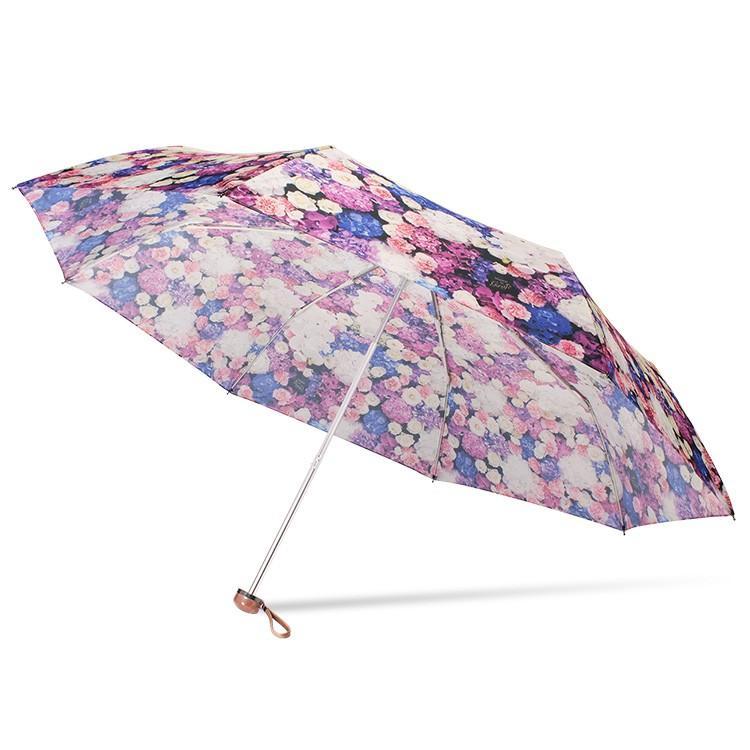 送料無料 折りたたみ傘 レディース 傘 軽量 かわいい グラスファイバー 花柄|story-web|13