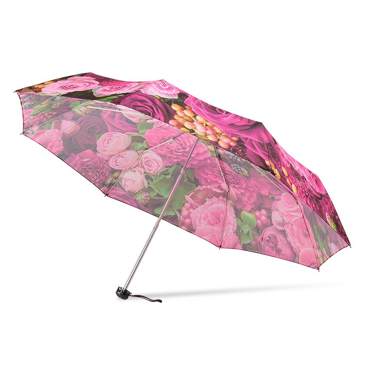 送料無料 折りたたみ傘 レディース 傘 軽量 かわいい グラスファイバー 花柄|story-web|16
