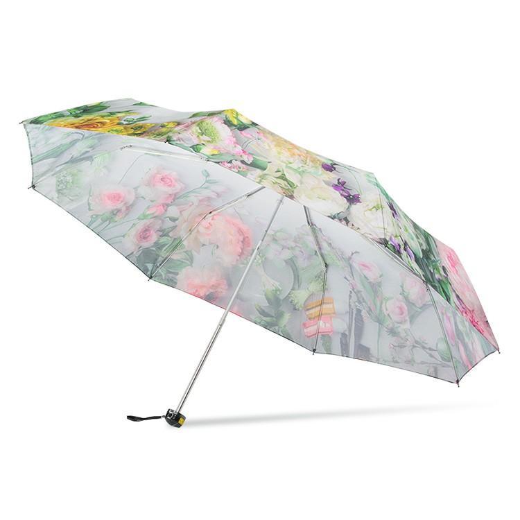 送料無料 折りたたみ傘 レディース 傘 軽量 かわいい グラスファイバー 花柄|story-web|15
