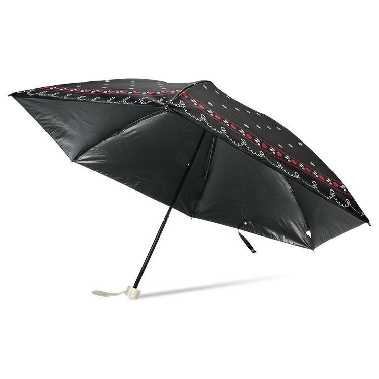 日傘 完全遮光 折りたたみ レディース おしゃれ 晴雨兼用 遮光率100% story-web 26