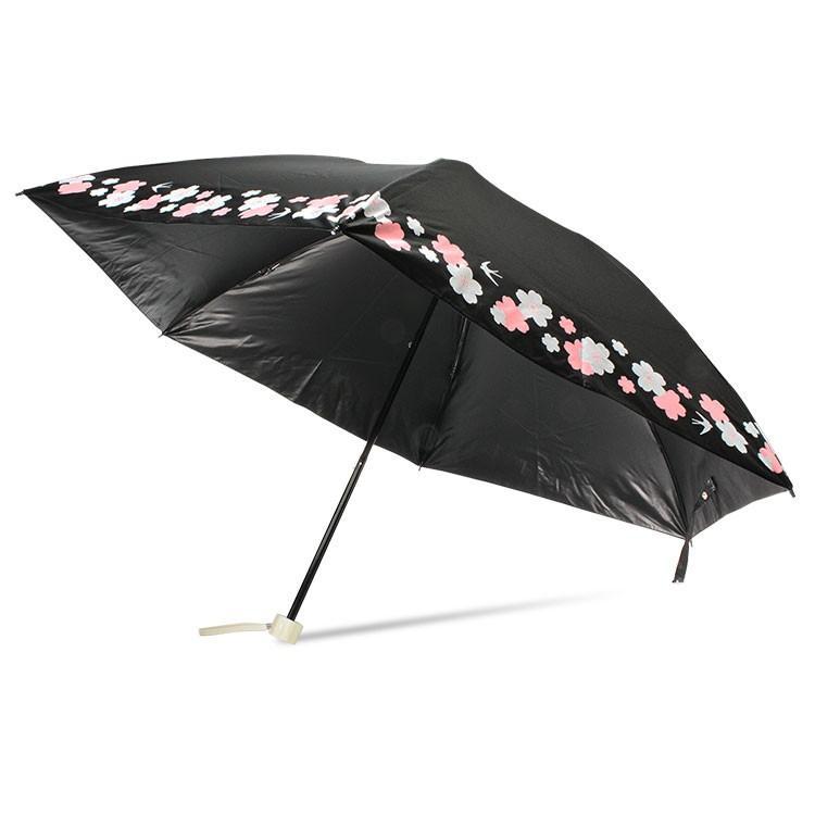 日傘 完全遮光 折りたたみ レディース おしゃれ 晴雨兼用 遮光率100% story-web 27