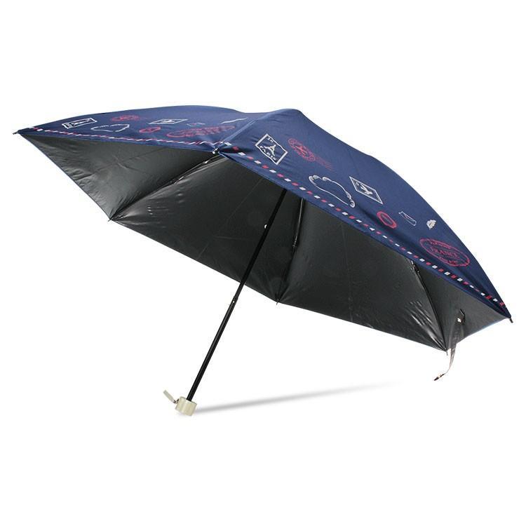 日傘 完全遮光 折りたたみ レディース おしゃれ 晴雨兼用 遮光率100% story-web 28