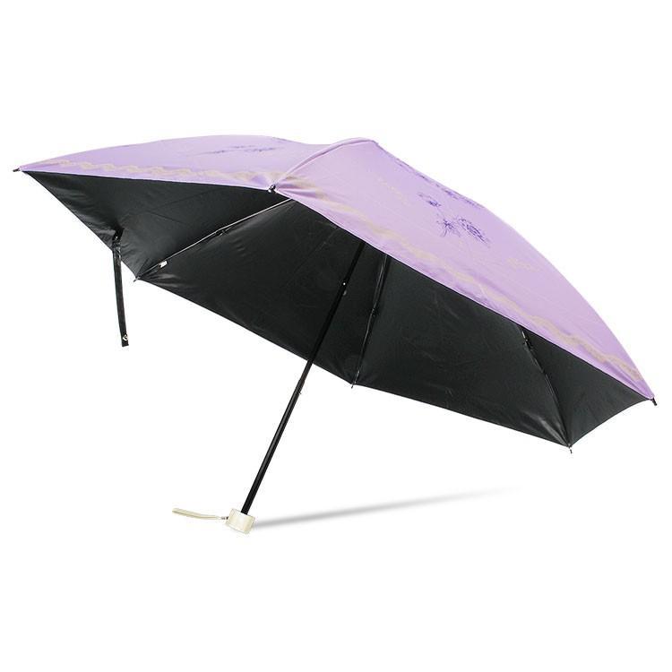 日傘 完全遮光 折りたたみ レディース おしゃれ 晴雨兼用 遮光率100% story-web 31