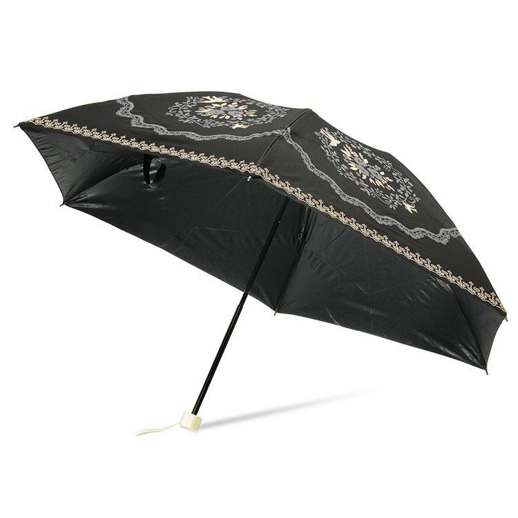 日傘 完全遮光 折りたたみ レディース おしゃれ 晴雨兼用 遮光率100% story-web 21