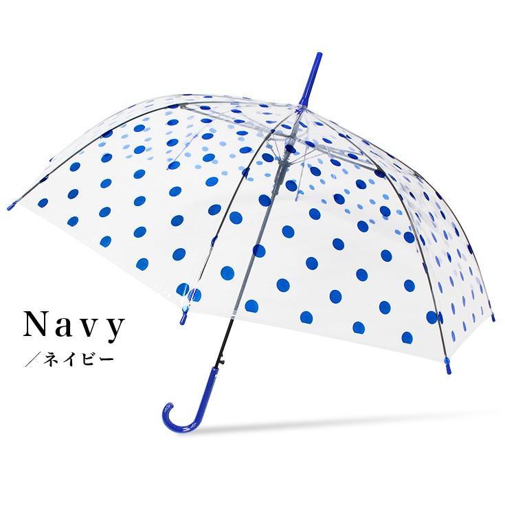 傘 レディース ビニール傘 かわいい おしゃれ ワンタッチ ジャンプ story-web 06