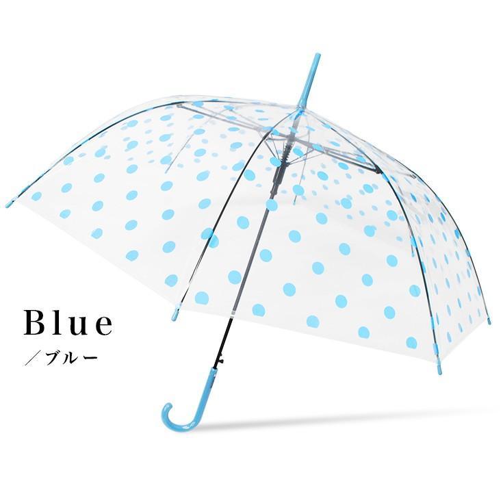 傘 レディース ビニール傘 かわいい おしゃれ ワンタッチ ジャンプ story-web 07