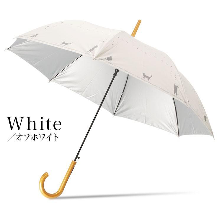 日傘 傘 レディース 猫 ネコ 晴雨兼用 UVカット99%以上 かわいい 遮熱|story-web|11