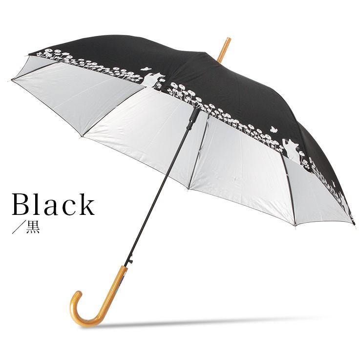 日傘 傘 レディース 猫 ネコ 晴雨兼用 UVカット99%以上 かわいい 遮熱|story-web|06