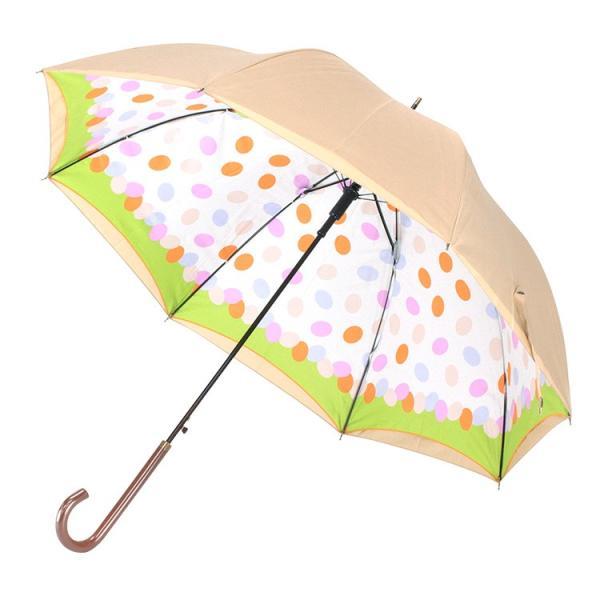 送料無料 日傘 完全遮光 晴雨兼用 UVカット率99% 以上 ジャンプ レディース|story-web|31