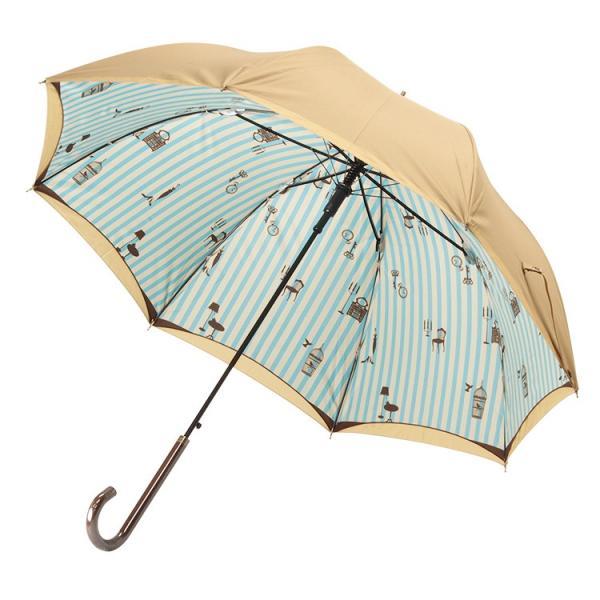 送料無料 日傘 完全遮光 晴雨兼用 UVカット率99% 以上 ジャンプ レディース|story-web|29