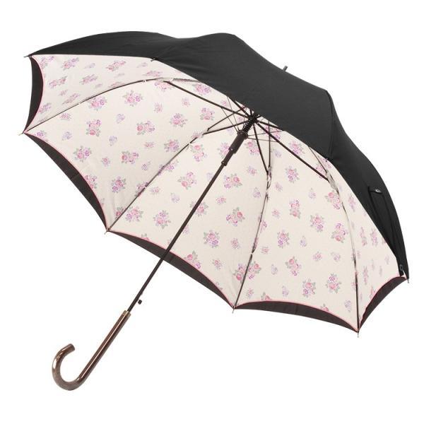 送料無料 日傘 完全遮光 晴雨兼用 UVカット率99% 以上 ジャンプ レディース|story-web|20