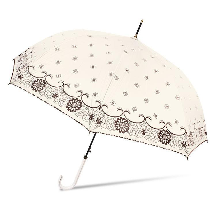 日傘 レディース 長傘 おしゃれ 晴雨兼用 UVカット率99% ジャンプ|story-web|05