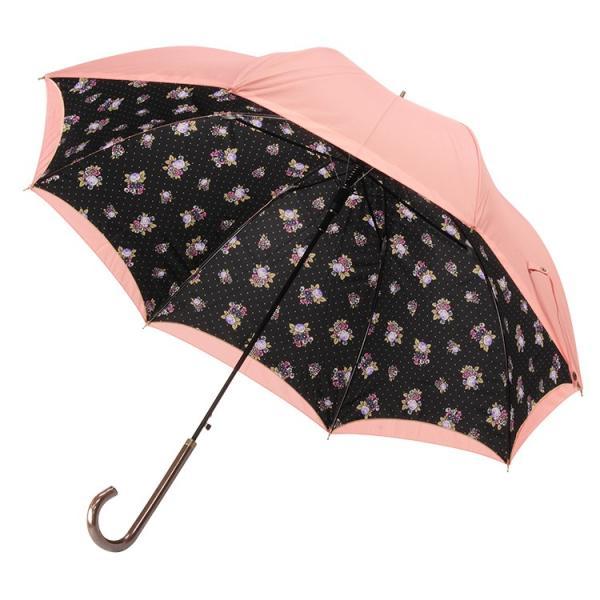 送料無料 日傘 完全遮光 晴雨兼用 UVカット率99% 以上 ジャンプ レディース|story-web|28