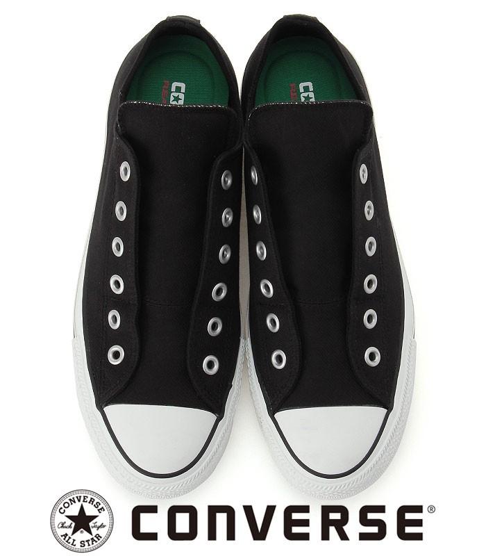コンバース 100周年モデル スリッポンシューズ スニーカー オールスター CONVERSE ブラック
